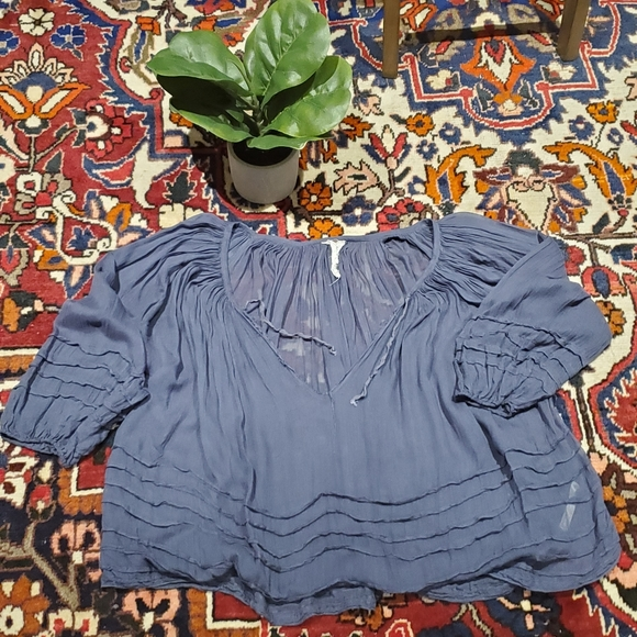 Free People Tops - Free People Boho Style Blouse